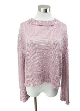 Purple Lilac Cotton Sweater 1