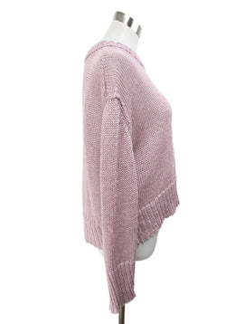 Purple Lilac Cotton Sweater 2