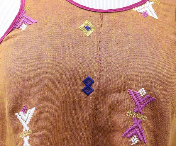 Forte Forte Tan Embroidered Top 5