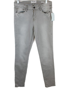 Frame Grey Denim Pants 1
