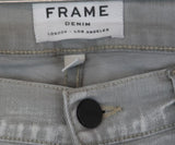 Frame Grey Denim Pants 3
