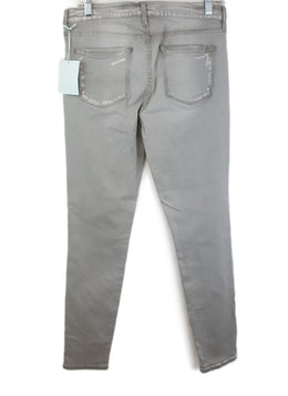 Frame Grey Denim Pants 2
