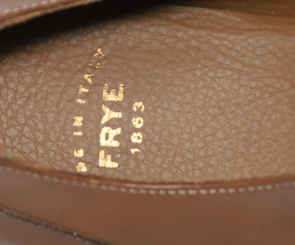 Frye Brown Leather Shoes 5