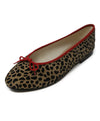 Fsny Brown Tan Animal Print Pony Pony Flats 1