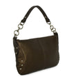 Furla Metallic Bronze Monogram Shoulder Bag Handbag 2