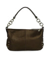 Furla Metallic Bronze Monogram Shoulder Bag Handbag 3