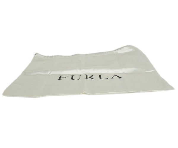 Furla Metallic Bronze Monogram Shoulder Bag | Furla