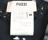 Fuzzi Black Leather Cotton Top 3