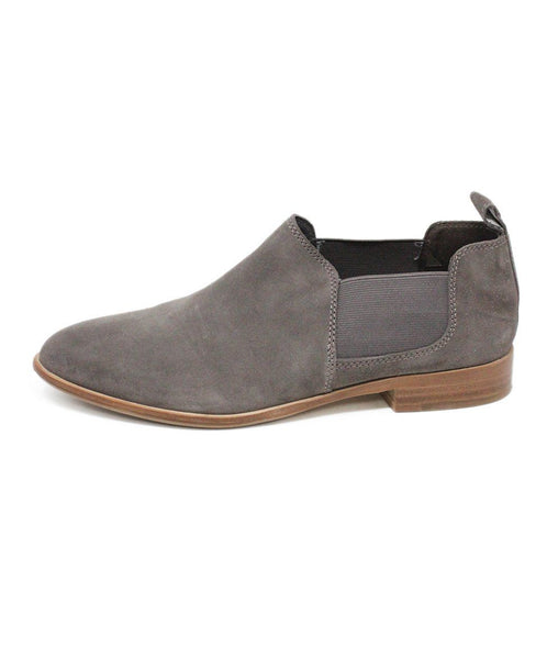 G.H. Bass & Co. Grey Suede Loafers 1