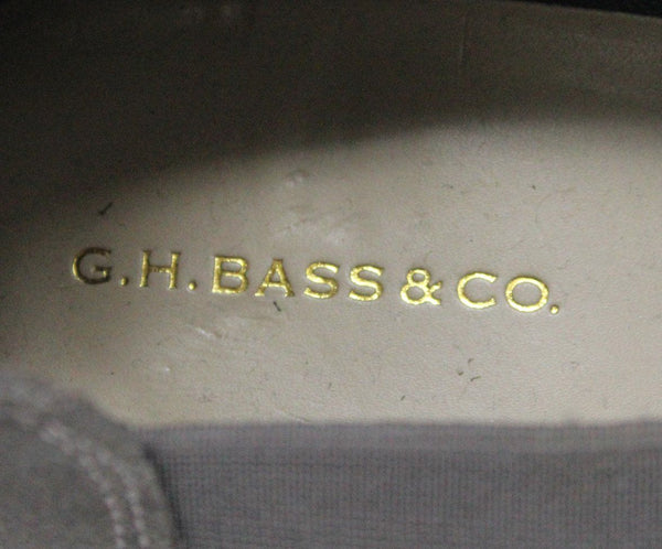 G.H. Bass & Co. Grey Suede Loafers 4