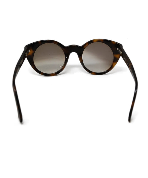 Gant Brown Black Lucite Sunglasses