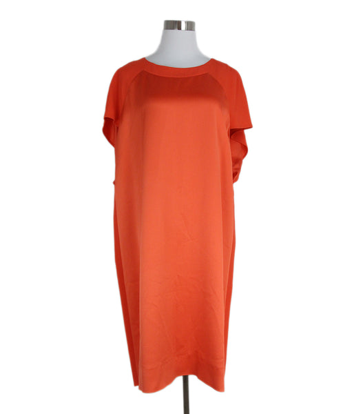 Gerard Darel orange dress 1