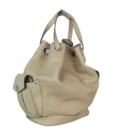 Ghurka beige leather bag 1