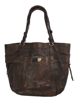 Ghurka Brown Leather Handbag 1