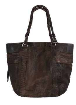 Ghurka Brown Leather Handbag 2