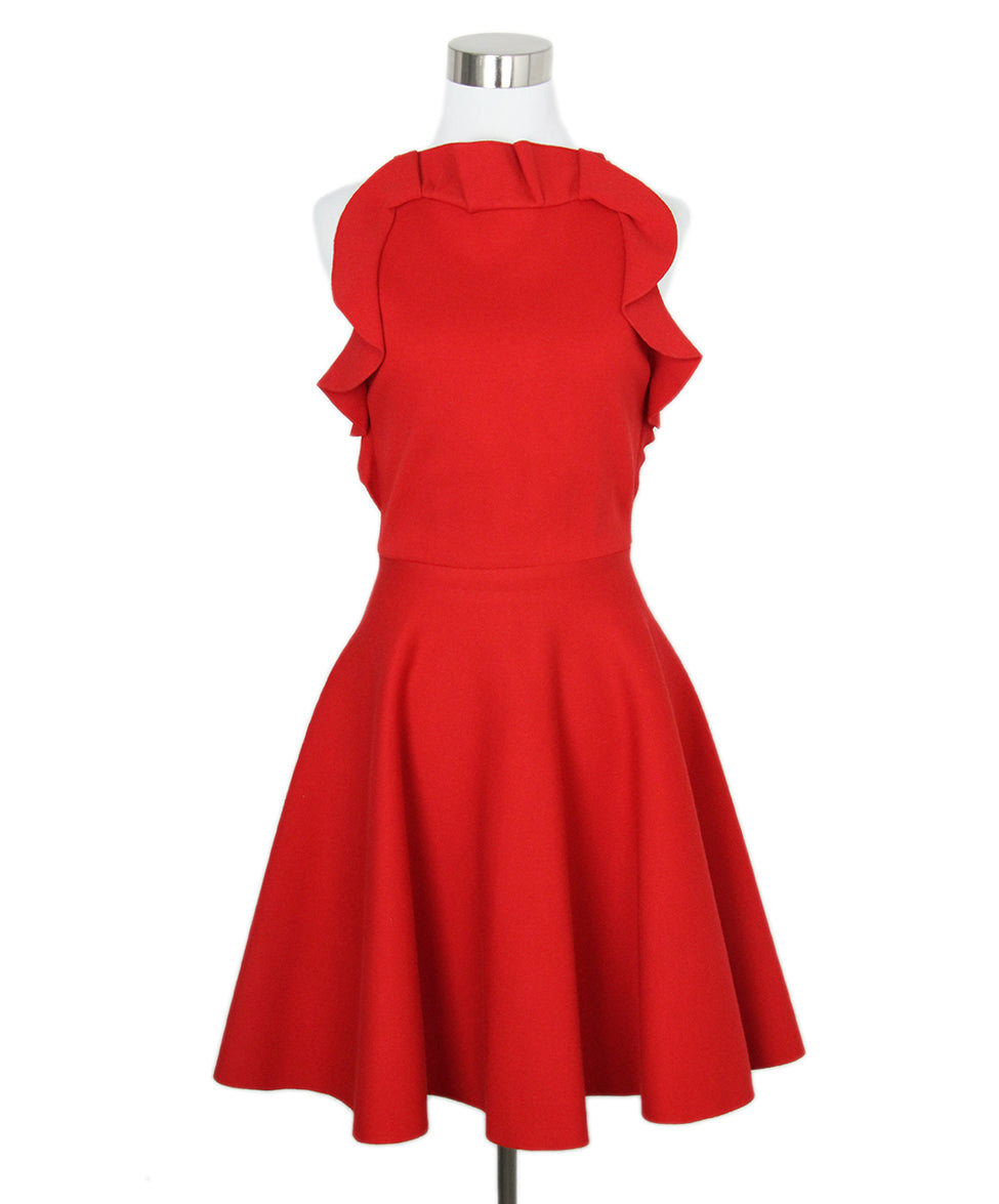 Giambattista Red Dress 1