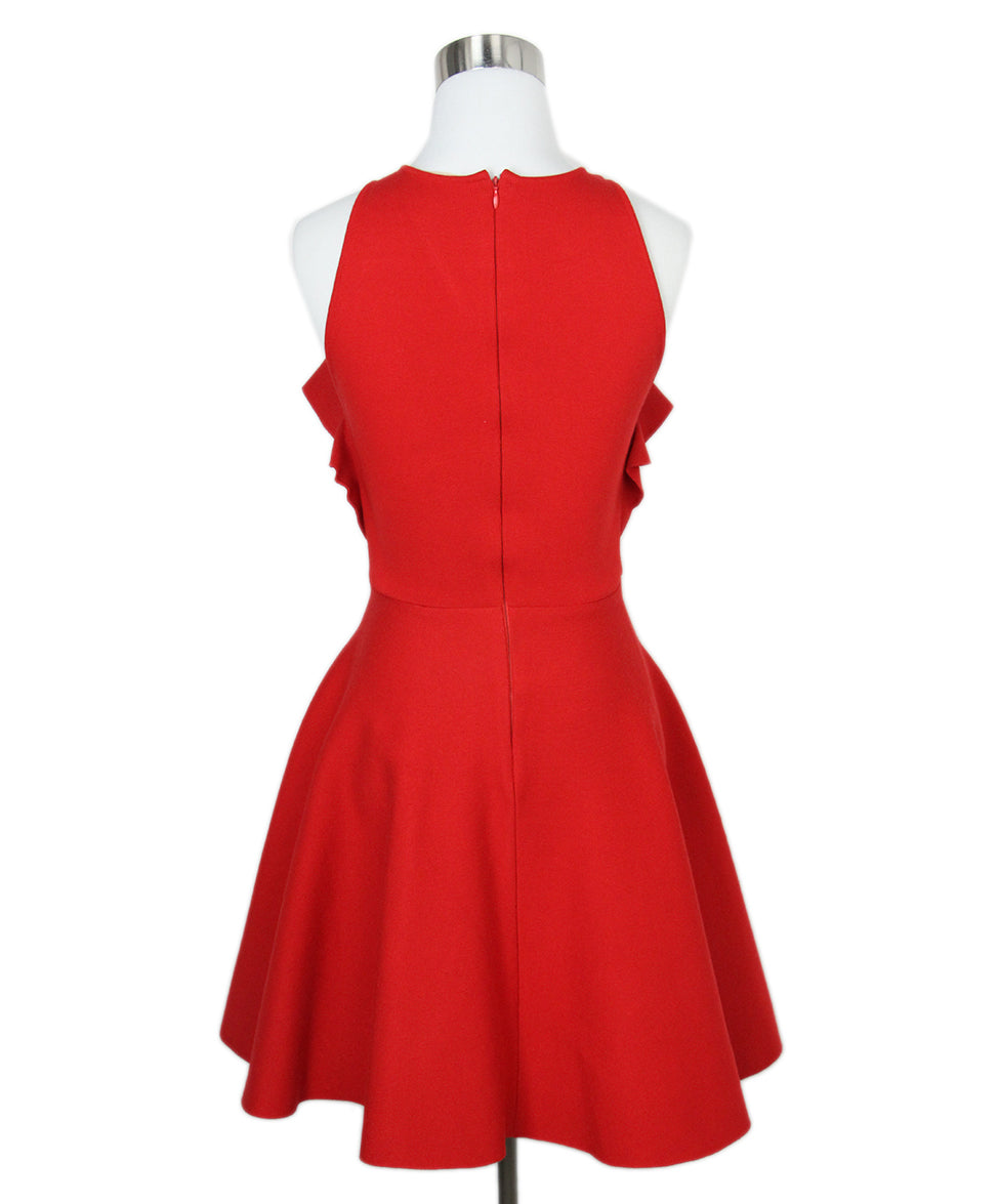 Giambattista Red Dress 3