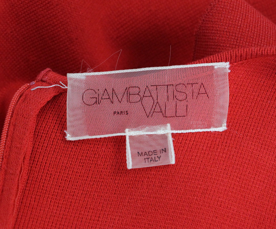 Giambattista Red Dress 4