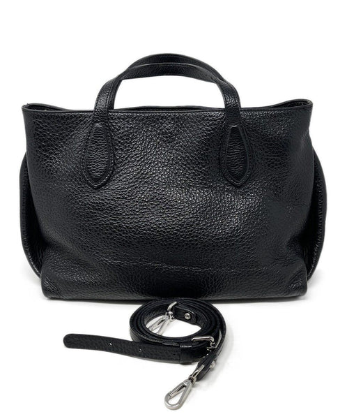 Gianni Chiarini Black Leather Handbag