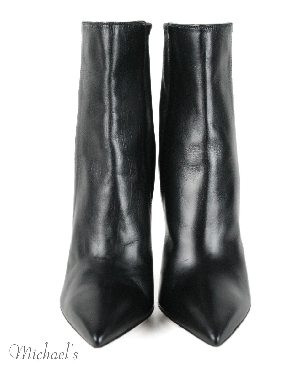 Gianvito Rossi Black Leather Boots Sz 9 - Michael's Consignment NYC  - 4