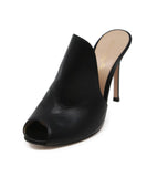Gianvito Rossi Black Leather Shoes 1