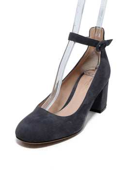 Gianvito Rossi Grey Suede Shoes 1