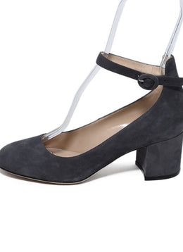 Gianvito Rossi Grey Suede Shoes 2