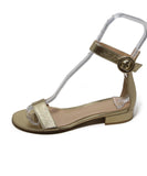 Gianvito Rossi Metallic Gold Sandals 2