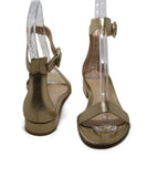 Gianvito Rossi Metallic Gold Sandals 3