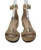 Gianvito Rossi Metallic Gold Sandals 4