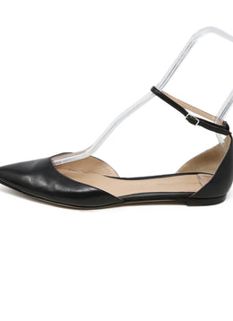 Gianvito Rossi Black Leather Ankle Strap Shoes 2