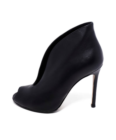 Gianvito Rossi Black Leather Heels 2