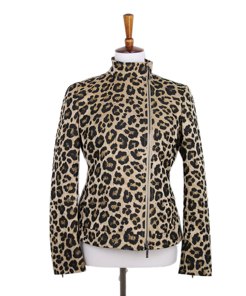 Giorgio Armani Animal Print Jacket 1