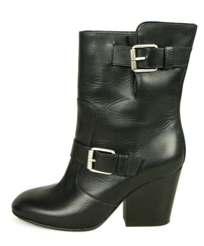 Giueseppe Zanotti Black Leather Boots 1