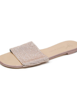 Sandals Giuseppe Zanotti Shoe Metallic Rose Crystal Beaded Shoes 1