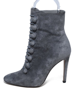 Gianvito Rossi Grey Suede Booties 2