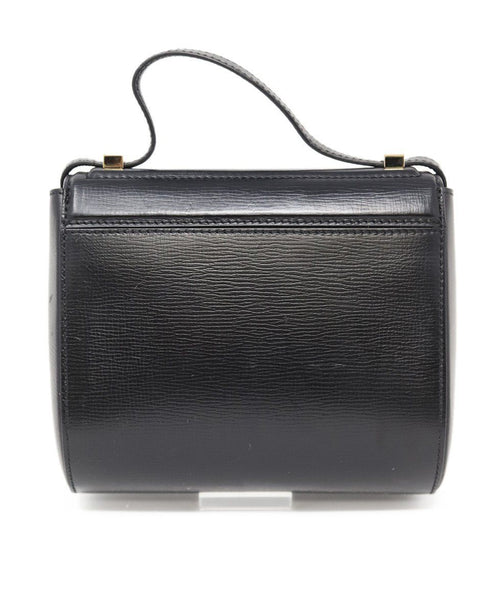 Givenchy Black Leather Pandora Box Handbag 2