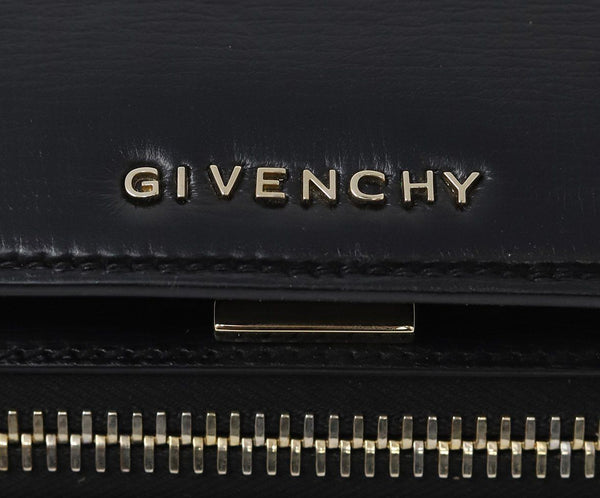 Givenchy Black Leather Pandora Box Handbag 4
