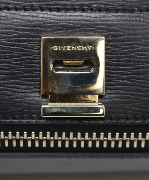 Givenchy Black Leather Pandora Box Handbag 5