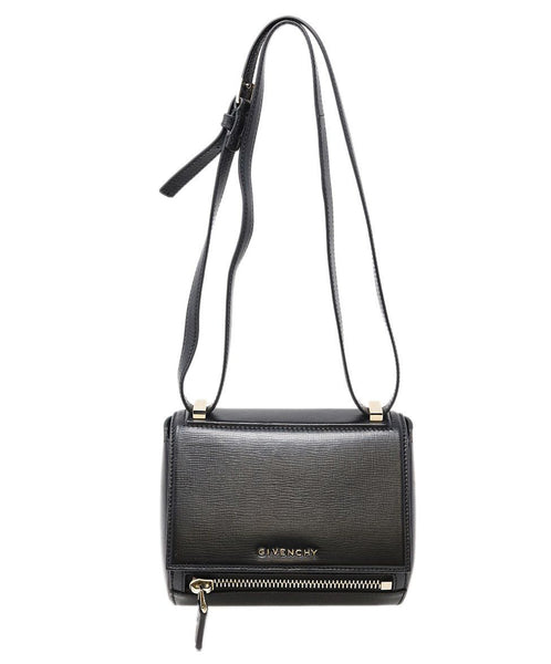 Givenchy Black Leather Pandora Box Handbag 3
