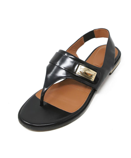 Rene Caovilla Black Satin Pearl Detail Sandals Sz 38