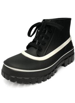 Givenchy Black Rubber Boots