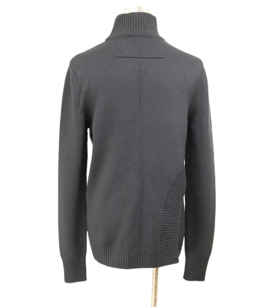 Turtleneck Givenchy Black Wool Viscose Sweater 2