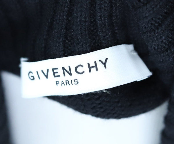 Turtleneck Givenchy Black Wool Viscose Sweater 3