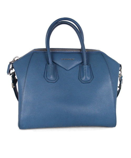 Givenchy Blue Leather Handbag 1