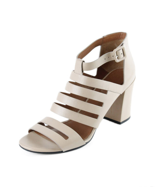 Givenchy Neutral Leather Sandals Sz 40