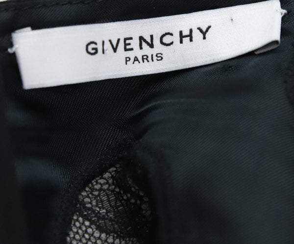 Givenchy Black Silk Lace Dress 3