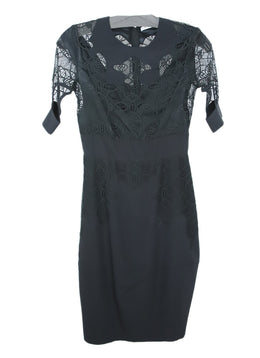 Givenchy Black Silk Lace Dress 1