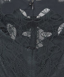 Givenchy Black Silk Lace Dress 6