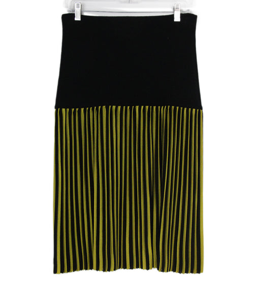 Givenchy black yellow skirts 1